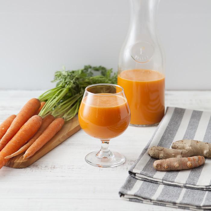 Orange power: estratto antiossidante a base di zucca, carota, arancia e zenzero - Ricette